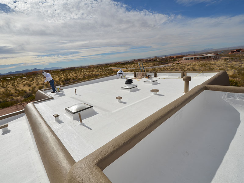 roof coating wesatherproofing las cruces new mexico